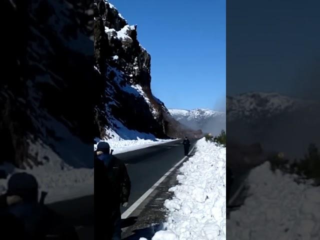 Gran derrumbe entre Villa La Angostura y Bariloche