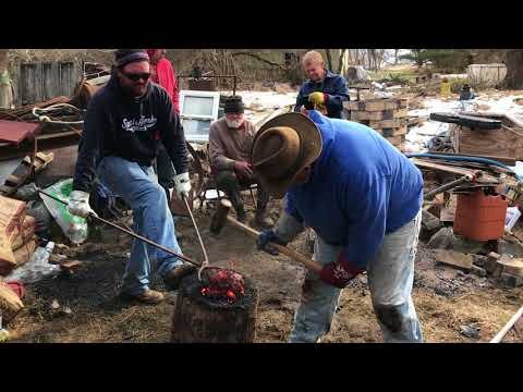 Opening the smelter at Fire and Brimstone 2018