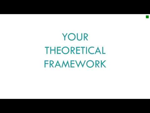 Constructing Your Literature Review & Theoretical Framework