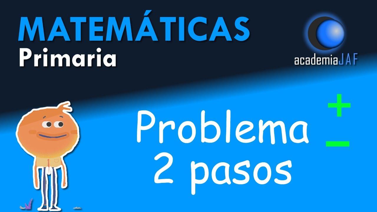 Problema Matematicas De Tres Operaciones Primaria Youtube