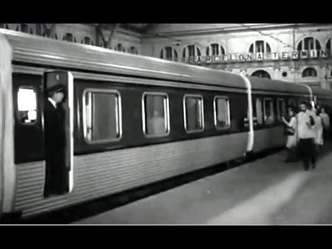 Variedad ferroviaria trenes hotel galicia y al ndalus for Barcelona paris tren hotel