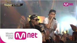Mnet [쇼미더머니3] EP.08 : 올티(OLLTII) - 그XX(feat.ZICO) @ 2차 공연