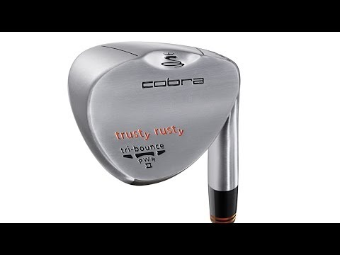 Cobra Trusty Rusty Wedge Review @ 2012 PGA Show