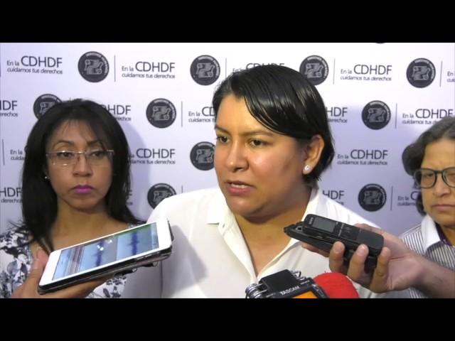 Entrevista a la Dra. Perla Gómez en la Adhesión a la Campaña #NegocioMortal