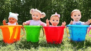 Diana plays Little Mommy for Baby doll, kids toys. Pretend Play Video for children