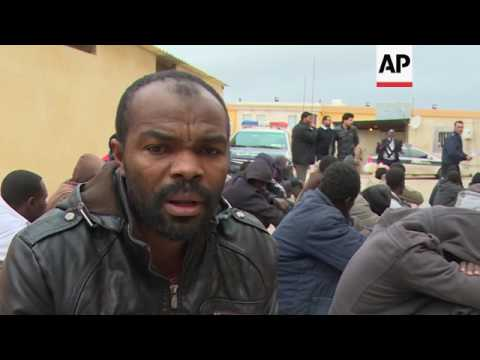 Libyan detention centres struggle to house migrants