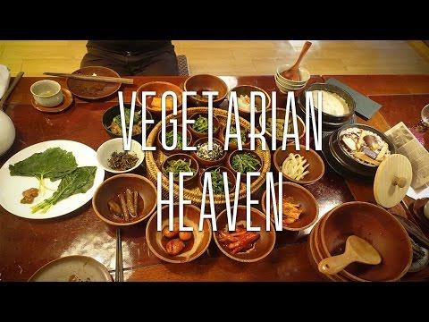 Best VEGETARIAN restaurant in seoul!