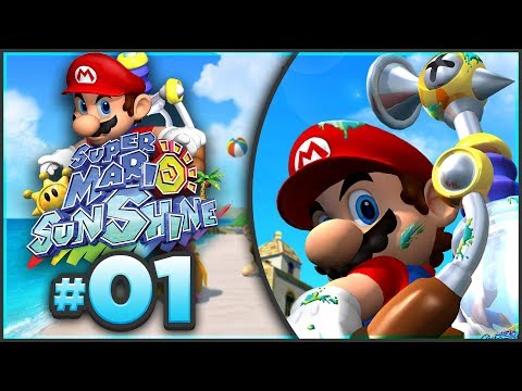 Super Mario Sunshine 100% Walkthrough | ALL Bianco Hills Shine Sprites! [Episode 1 🔴LIVE]