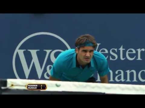 No 1 Federer No 2 Murray Clash In 2009 Cincinnati Classic Moment