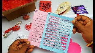 Valentine's Day Gift Idea For Her | Simple Valentine's Day Gift For Lover | My Gift For Her