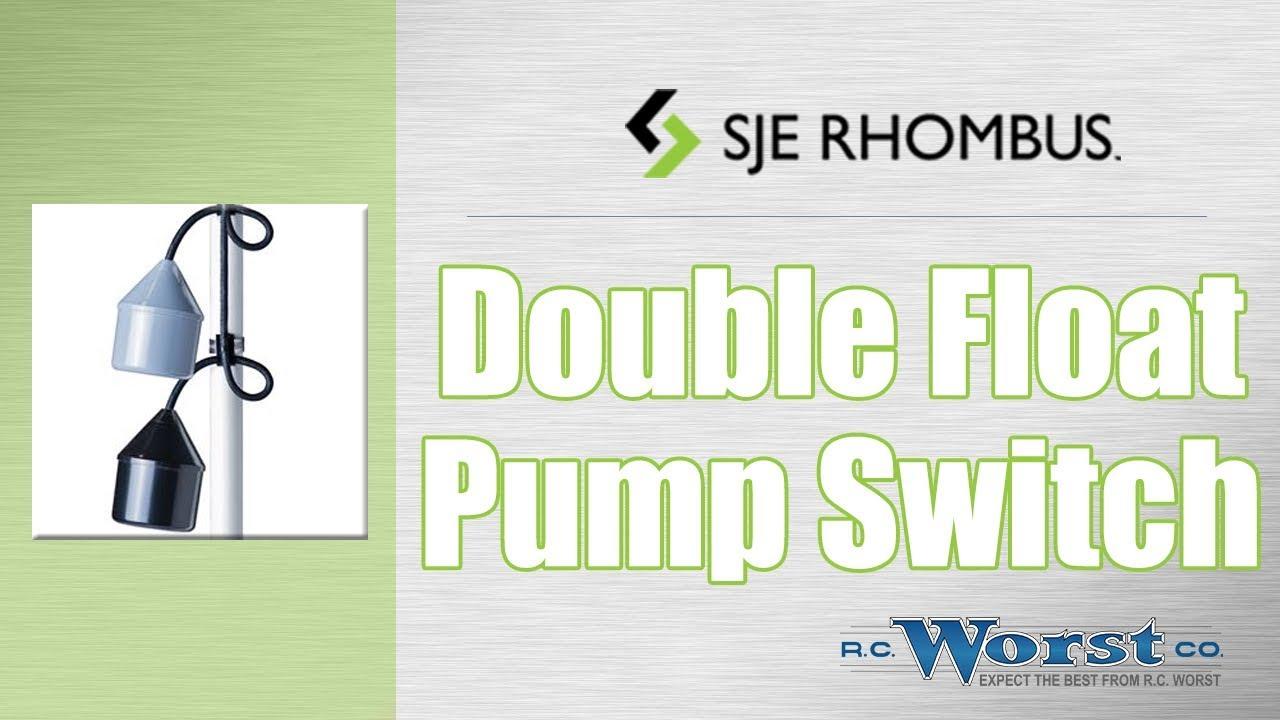 sje rhombus double float pump switch [ 1280 x 720 Pixel ]