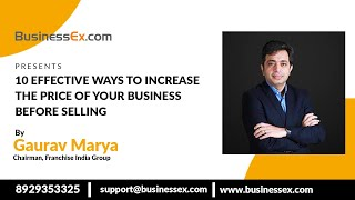 Episode 25- 10 Effective Ways To Increase The Price Of Your Business