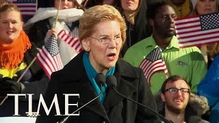 Sen. Elizabeth Warren Officially Announces Her 2020 Presidential Candidacy | TIME