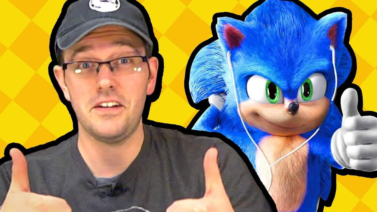 Cinemassacre's Sonic The Hedgehog Movie Review with SomecallmeJohnny – Cinemassacre