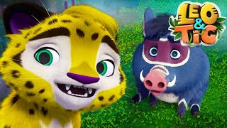 LEO and TIG 🦁 NEW 🐯 Episode 14 - A Gift from the Spirit of the Taiga ❤️ Moolt Kids Toons