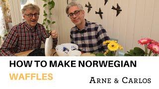 How To Make Norwegian Waffles by ARNE & CARLOS