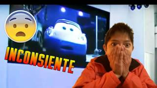 "Cars 3 el accidente "" en la descripcion"