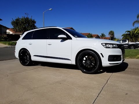 2018 Audi Q7 Review, (Prestige, Black Optic, Luxury, Adaptive Chassis , Driver Assistance)