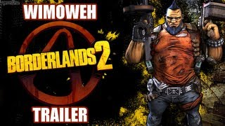 "Borderlands 2 ""Wimoweh"" Trailer [OFFICIAL - 720P HD]"