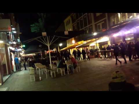 Night life in Dusseldorf Germany 2016-1