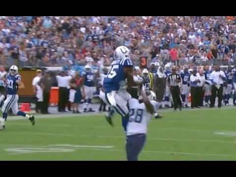 Phillip Dorsett Leaping Touchdown Catch || Colts at Titans Week 3 2015