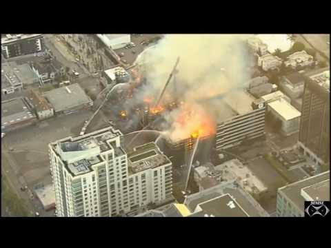 "Oakland, California 7-7-17 ""4-Alarm Structure Fire"""