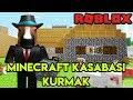 🌇 Kendi Minecraft Kasabamızı Kuruyoruz 🌇 Minecraft Tycoon Roblox Türkçe