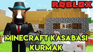 🌇 Kendi Minecraft Kasabamızı Kuruyoruz 🌇 | Minecraft Tycoon | Roblox Türkçe
