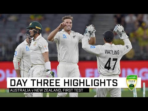 Aussies Collapse Under Lights But Hold Dominant Position | First Domain Test V New Zealand