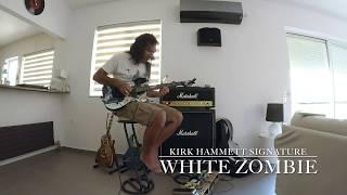 Kirk Hammett signature white zombie