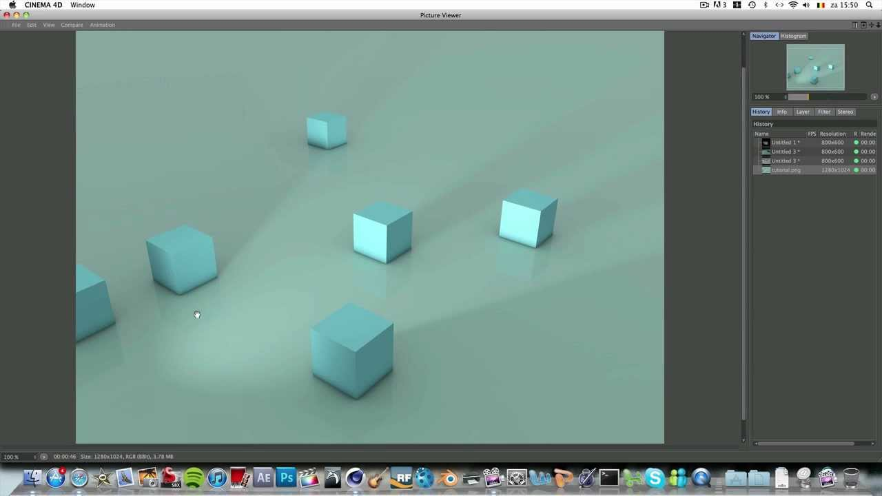 4d Shadow: Cinema 4d Shadows+render Tutorial