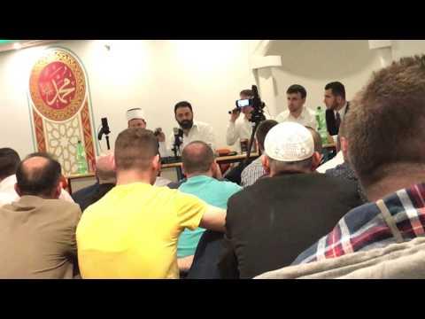 Hafiz -  Adem Ramadani  Live ne Tribune Xhami ne St. Gallen 2017.  Pjesa 1