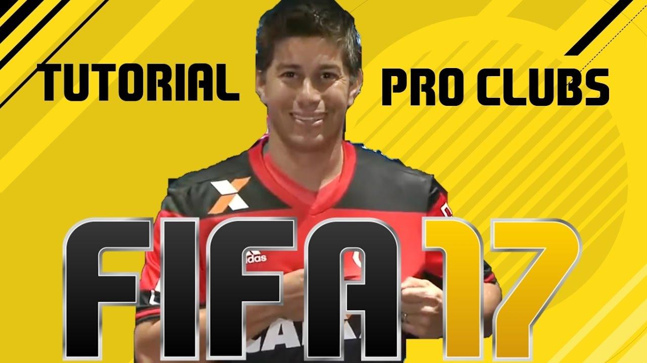 FIFA 17 I TUTORIAL FACE I Daro Conca Flamengo [Pro Clubs]