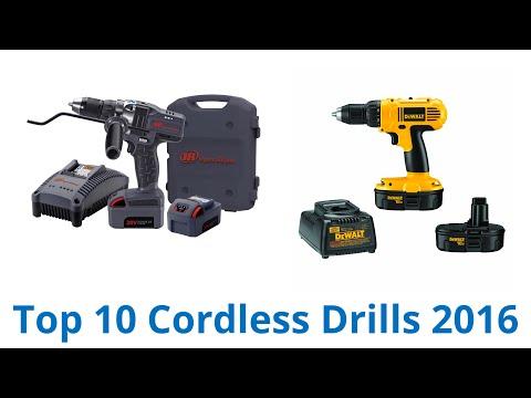 10 Best Cordless Drills 2016