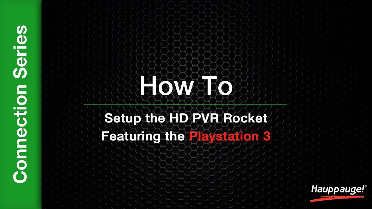 Hauppauge UK | HD PVR Rocket Support