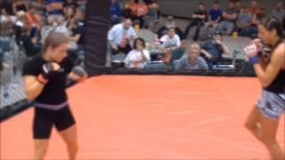 Hardrock MMA 68 Fight 7 Gina Begley vs Ashley Rickard 125 Female Ammy
