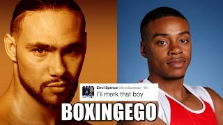 Keith Thurman Vs Errol Spence Jr [round 2] Boxing Debate -boxingego