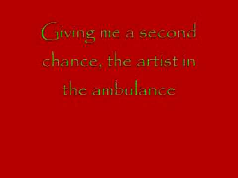 Artist in the Ambulance Lyrics