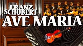 F Schubert Ave Maria Igor Zavadsky solo with violin organ choir Albums No 12 8 13 7