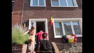 2014 Belgique   BXL, Avec Les Diables Rouges, Huitièmes, Chez Geneviève et Marc, by HabariSalam