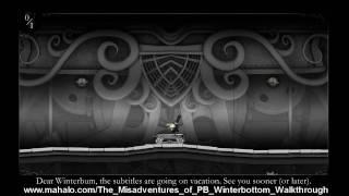 The Misadventures of PB Winterbottom Walkthrough -The Ticking Tarts - 2-3