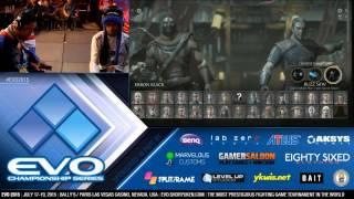 EVO 2015 MKX Grand Finals Sonic Fox vs Foxy Grandpa (1080p)