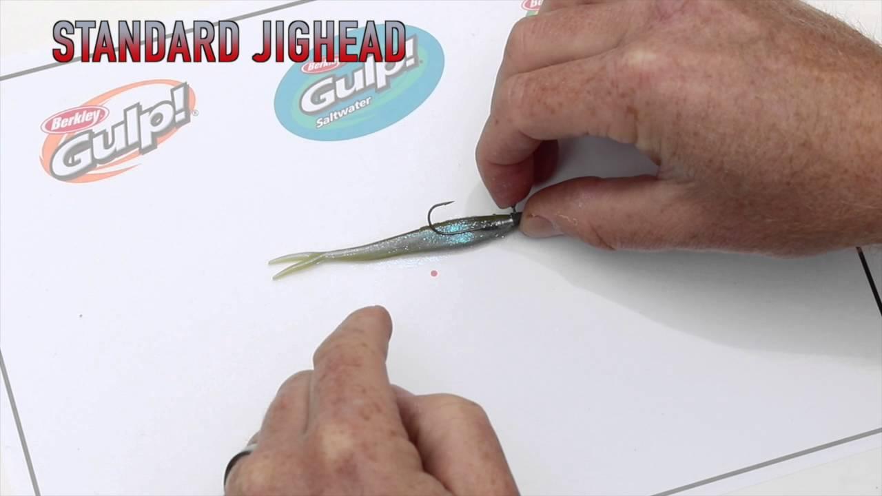 Standard Jighead - Rigging Berkley Soft Plastics