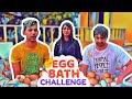 egg bath challenge rimorav vlogs