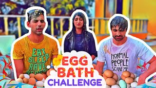 Egg Bath Challenge | Rimorav Vlogs