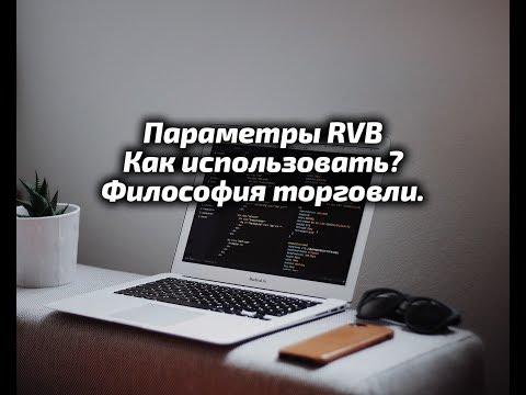Индикатор диапазонных уровней RVB.  Настройка, философия торговли.