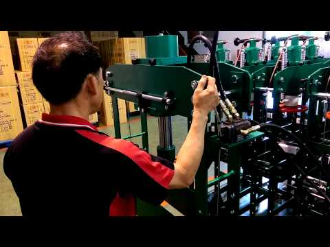 JL-35E Hydraulic Press Function Test Video.