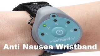 Anti Nausea Wristband For Motion Sickness - Relief Band