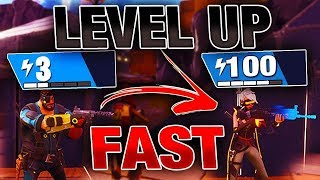 Tuto: RAPIDly increase its level/power on Fortnite: Save the world!