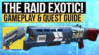 Destiny 2 | THE RAID EXOTIC! How to Get Legend of Acrius Exotic Shotgun (On The Comms PC & Console)